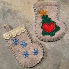 Thrift Wool Sweater Card Holder DIY