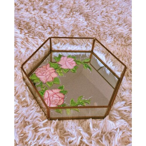 Anna - DIY Floral Art Design on Jewelry Tray Main