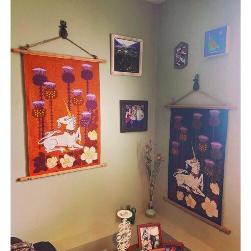 Denise DIY Tea Towel Art Main
