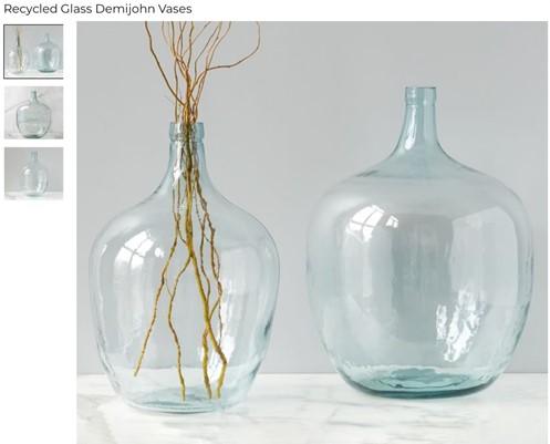 Erin - Three Ways to Style a Demijohn Glass Vase 2