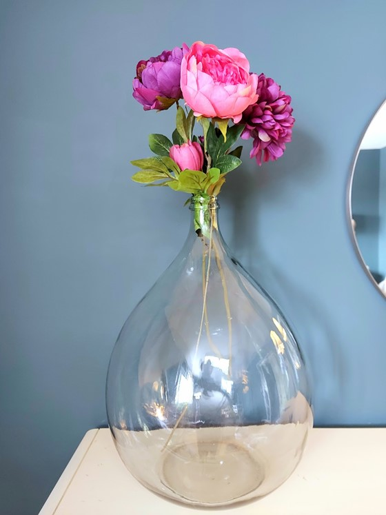Erin - Three Ways to Style a Demijohn Glass Vase - Floral