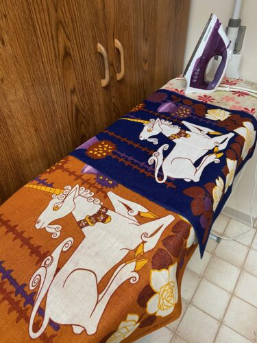 Denise DIY Tea Towel Art Step 2