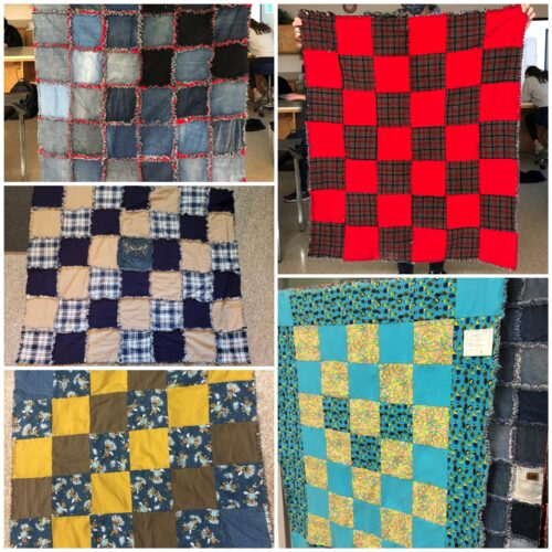 Inspiring the Next Generation of Thrifters - Finished Quilts