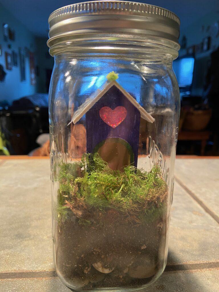 Upcycled Mason Jar Terrarium - 1