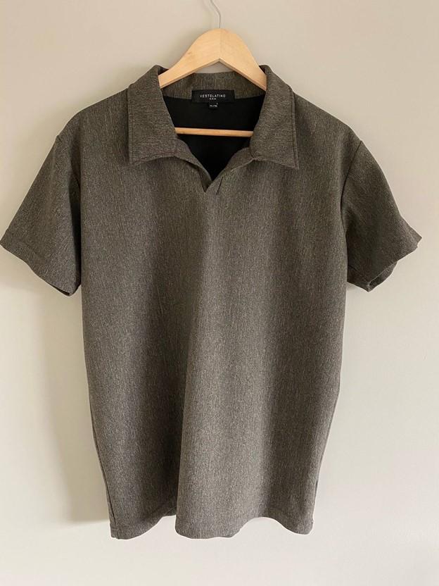 Neutral-toned Polo shirt