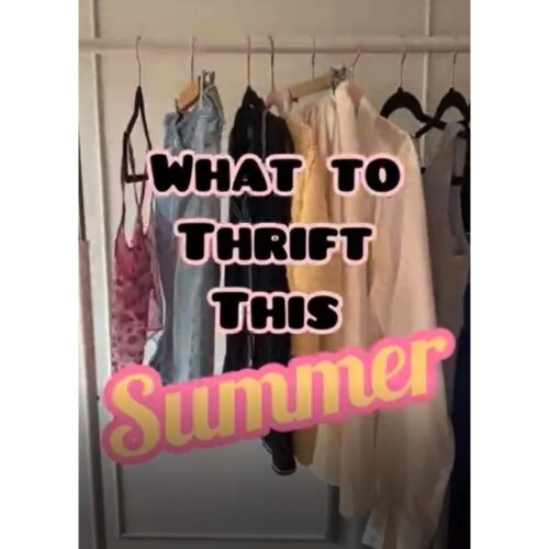 VLOG: What to Thrift this Summer