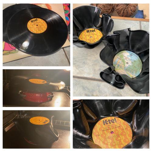 Upcycled Record Bowl DIY