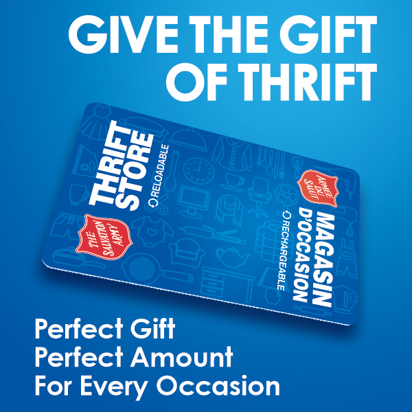 Thrift Store Gift Cards