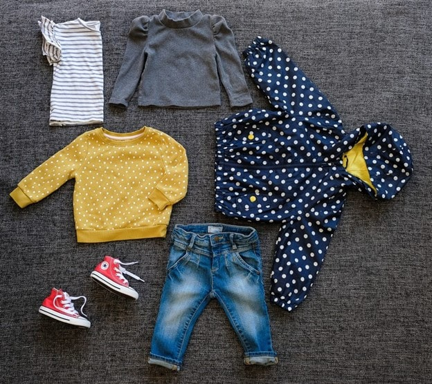 Thrifted back to school kids clothes