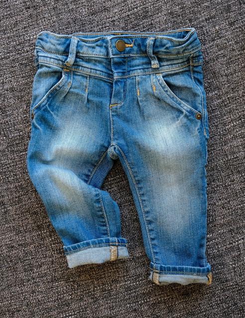 Thrifted kids denim jeans