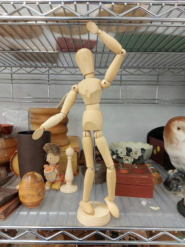 Thrifted art figurine