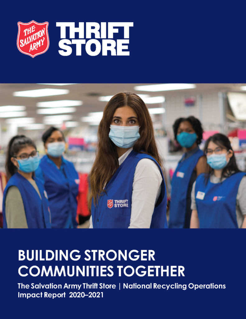 Thrift Store Annual Impact Report Cover