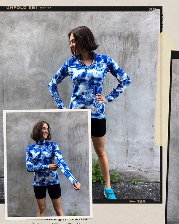 Activewear sweater